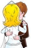 Reis 003 van het huwelijk royalty-vrije illustratie