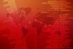 Reis 01 van de wereld Stock Afbeelding