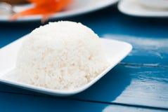 Reis auf Platte Stockbilder