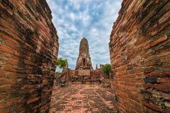 Reis in ayutthaya oude stad Royalty-vrije Stock Afbeeldingen
