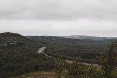 Reis in bergen Royalty-vrije Stock Afbeelding