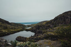 Reis in bergen Stock Afbeeldingen