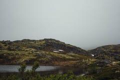 Reis in bergen Stock Foto's