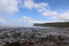 Reis Britse kust Yorkshire Stock Afbeelding