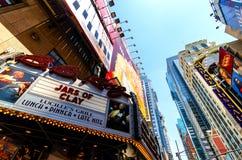 Reis Clube Restaurante do BB no Times Square Fotografia de Stock Royalty Free