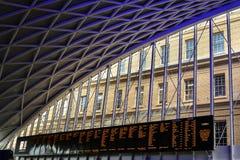Reis Cruz Estação, Londres Imagens de Stock Royalty Free