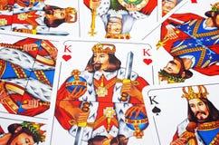 Reis da plataforma de cartão Foto de Stock