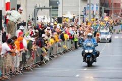 Reis DE Frankrijk 2010. Proloog Stock Afbeeldingen