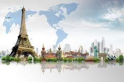 Reis de wereld Royalty-vrije Stock Foto