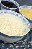 Reis in den Schüsseln Lizenzfreies Stockfoto