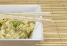 Reis in der Schüssel Stockbild