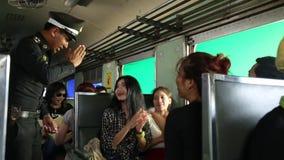 Reis door trein stock footage