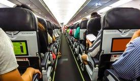 Reis door vliegtuig. Stock Afbeelding