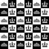Reis e rainhas ilustração royalty free