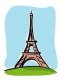Reis Eiffel royalty-vrije illustratie