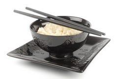 Reis in einer Schüssel Lizenzfreie Stockbilder