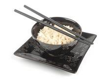 Reis in einer Schüssel Lizenzfreie Stockfotos