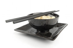 Reis in einer Schüssel Lizenzfreies Stockbild