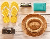 Reis en strand de puntenvlakte lag Royalty-vrije Stock Foto