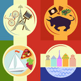 Reis en toerisme Stock Afbeelding