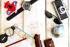 Reis en vakantieplannen Stock Afbeelding