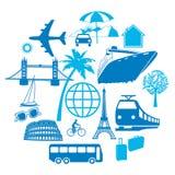 Reis en Vervoer stock illustratie