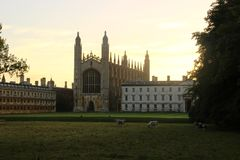Reis Faculdade Cambridge Fotografia de Stock