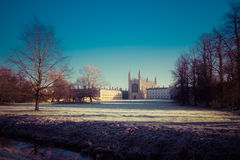 Reis Faculdade Capela Cambridge Imagens de Stock Royalty Free