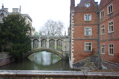 Reis Faculdade da Universidade de Cambridge fotografia de stock royalty free