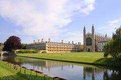 Reis Faculdade e capela, Cambridge Imagem de Stock Royalty Free