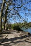 Reis in het park van Lyon stock fotografie