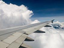 Reis, het Vliegen, Vervoer, Hemel, Wolken stock foto's
