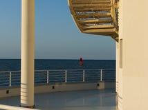Reis in Italië - Windsurf in Senigallia- Royalty-vrije Stock Foto's