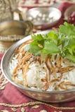 Reis jeera, indische Nahrung Stockfotos