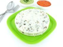 Reis-Kuchen Stockbild