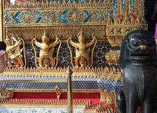 REIS LUGAR BANGUECOQUE TAILÂNDIA Fotografia de Stock Royalty Free