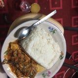 Reis-Mahlzeit Stockfotos