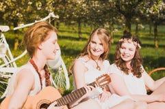 Reis met meisjes Royalty-vrije Stock Afbeelding