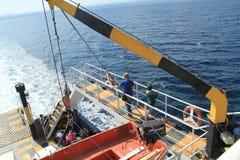 Reis met veerboot royalty-vrije stock fotografie