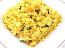 Reis mit Curry lizenzfreie stockbilder