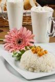 Reis mit Kichererbse Stockbilder