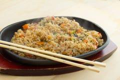 Reis mit vegetavles Lizenzfreie Stockfotos