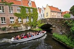 Reis naar Brugge Stock Foto's