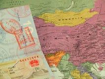 Reis naar China Royalty-vrije Stock Foto