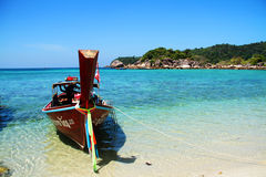 Reis naar Lipe-Eiland Satun Thailand Stock Afbeelding