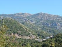 Reis naar Montenegro op het Adriatische Overzees Royalty-vrije Stock Afbeeldingen