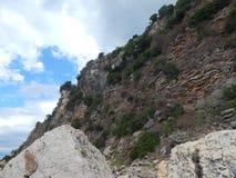 Reis naar Montenegro op het Adriatische Overzees Stock Foto's