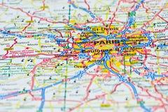Reis naar Parijs Stock Foto