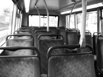 Reis op Bus 2 Stock Foto