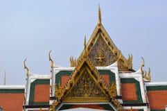 REIS PALÁCIO CONSTRUÇÃO BANGUECOQUE TAILÂNDIA Imagens de Stock Royalty Free